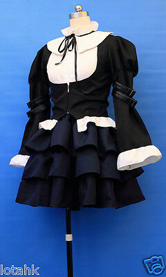 Fairy Tail Erza Scarlet Cosplay Lolita Dress Costume A DDsd