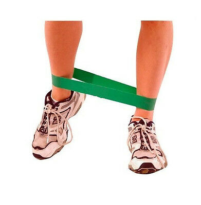 LOOP Core Cross Training RESISTANCE Band HEAVY Pilates GREEN Yoga Exercise Gym
