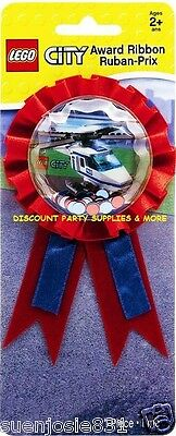 Lego City Confetti Guest of Honor Award Ribbon 1ct Party Favor Supplies