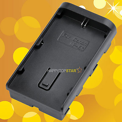 Changing Canon LP-E6 to SONY F570/F770/F970 Battery Adapter/Holder for LED Light