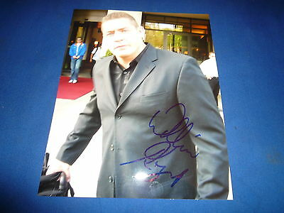 WILLIAM REGAL    signed Autogramm 20x25 In Person WWE Raw