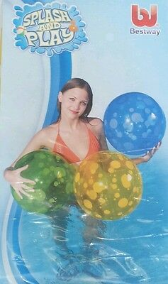 SPLASH & PLAY SPOTTED INFLATABLE BEACH SWIMM
