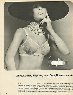 PUBLICITÉ ADVERTISING 1966 Lingerie Playtex confort soutien gorge ... aec223c0b1a