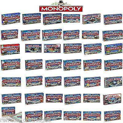 New! Regional Monopoly 38 Regions To Choose From! Amazing Value Great Present