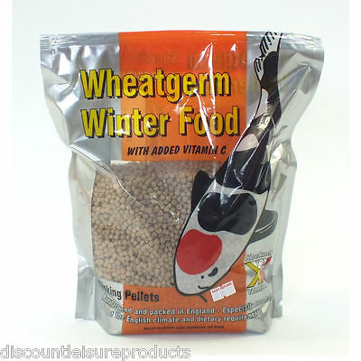 Kockney Koi Winter Wheatgerm Sinking Fish Food 1KG