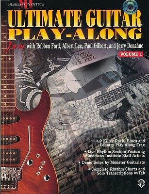 Ultimate Guitar Play-Along, Volume 1 (Book & CD) from the Musicians Institute
