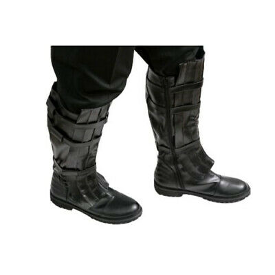 Star Wars Jedi Boots Black for your Sith Anakin Skywalker Costume - from USA