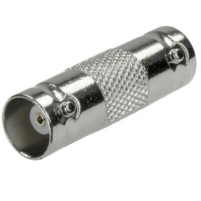 CCTV Security Camera Cable Extension Joiner Coupler Adapter BNC F to F X 10
