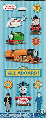 Thomas the Tank Engine Train & Friends All Aboard Stickers Party Favors