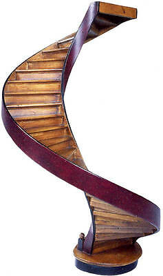 Grand Staircase Architectural Model 3D Spiral Architect Stair AR012