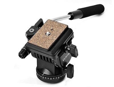 New YT-950 Pro Video Camera Tripod Action Fluid Drag Head For Dslr Shooting Fil