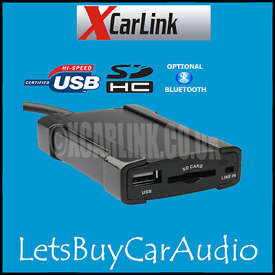 Xcarlink Sku30744 Peugeot Usb, Sd,Mp3 Interface For Rt3 Van Bus Units