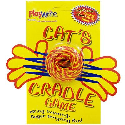 Cat's Cradle String Game for Children - Traditional Playground String Games