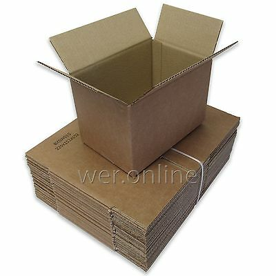 "9"" x 6"" x 6"" A5 Size Postal Mailing Cardboard Boxes Single Wall-Multi Listing"