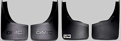 22894860,22894866 OE 2014 & Up Sierra 1500 Frt & RR Molded Splash Mud Guards