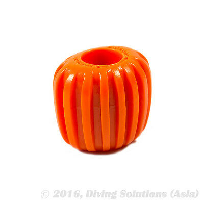 Scuba Diving Tank Cylinder Valve Knob -Oval Design for Better Grip, Orange