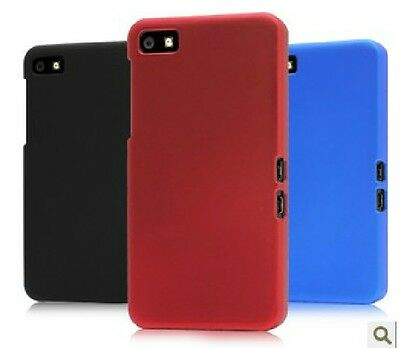 Slim Rubberized Shell Hard Case Cover Fits Blackberry Z10/ Free Screen Protector