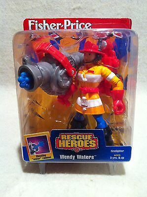 Rescue Heroes Wendy Waters Firefighter Factory Sealed!