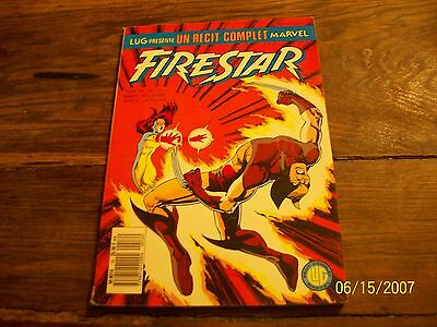 "recit complet marvel  16  ""    FIRESTAR   ""."