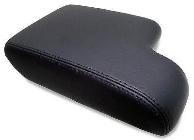 Armrest Center Console Lid Cover RealLeather for 92-99 BMW E36 325 328 318 Black