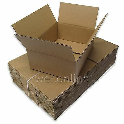 """12"""" x 9"""" x 4"""" A4 Size Postal Mailing Cardboard Boxes Single Walled-Multi Listing"""