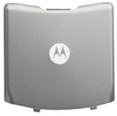 Lot Of 2 New Battery Door Back Cover Oem Motorola V3M V3C Silver