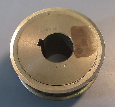 """24H100 Timing Pulley/Sprocket Type 6F 24 Tooth 1-3/8"""" Bore Used"""