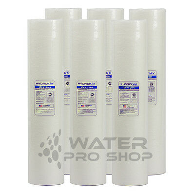 """Replacement 6 Big Blue Sediment Water Filters 