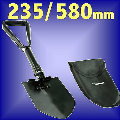 EMERGENCY FOLDING SPADE SHOVEL camping snow digging fishing