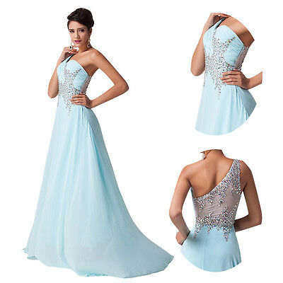CHEAP SALE Beaded Chiffon Evening/Formal/Ball gown/Party/Pageant/Prom Dress Long