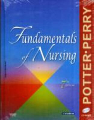 Fundamentals of Nursing by Patricia A. Potter and Anne Griffin Perry (2008,...RN
