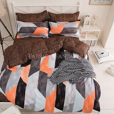FINDIA Queen/King/Super King Size Bed Duvet/Doona/Quilt Cover Set New