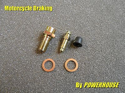 M10 1.0 mm Banjo Bolt & Bleed Screw Radial Brembo Caliper Aprilia KTM Ducati