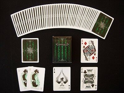 Bicycle Green Artifice Deck by Ellusionist Playing Cards Sealed New