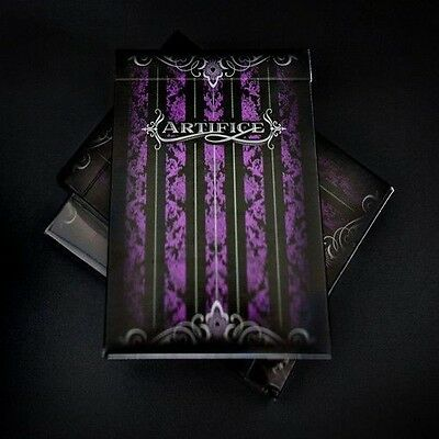 Bicycle Purple Artifice Deck by Ellusionist Playing Cards Sealed New