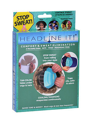 Headline It (No Sweat) Wig Liner 10pk - Products & Accessories for Wigs