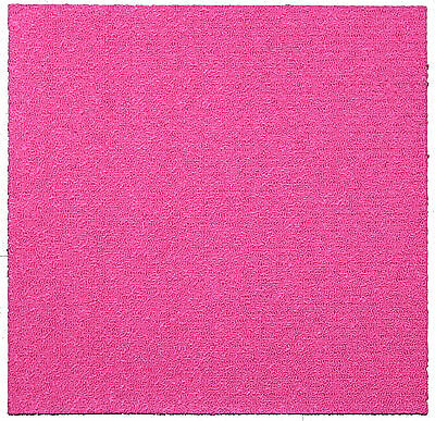 CARPET TILES-PINK / BRIGHT PINK LOOPED (50cm X 50cm) - SAVE 60% ON RETAIL PRICES