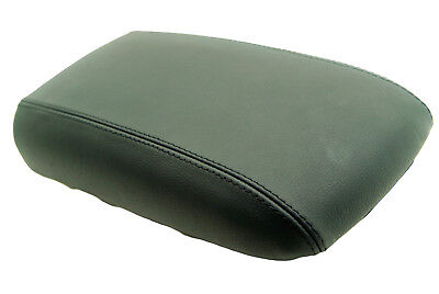 Fits 02-09 Chevy Trailblazer GMC Envoy Leather Console Lid Cover Black