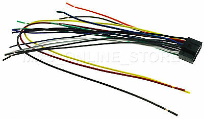 WIRE HARNESS FOR Kenwood Ddx-370 Ddx370 *pay Today Ships Today* on