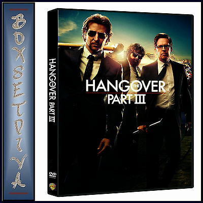 THE HANGOVER PART III - HANGOVER 3- Bradley Cooper &  Ed Helms**BRAND NEW DVD **