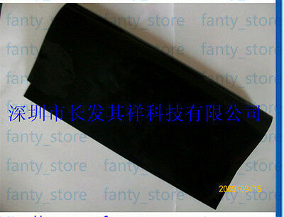 Nickel Plated Graphite Conductive Rubber EMC Shielding Sheet 300*300*0.5mm #U61