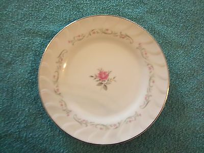 "MSI FINE CHINA OF JAPAN ROYAL SWIRL 7 5/8"" SALAD PLATE"