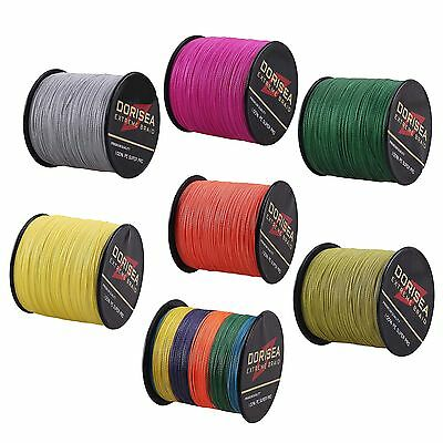 300M Agepoch Strong Dyneema Spectra Extreme PE Braided Sea Fishing Line  /50m FG