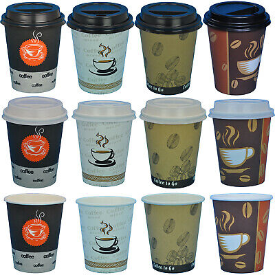 Kaffeebecher Coffee to go Pappbecher Becher Kaffebecher 0,2l Hartpapier