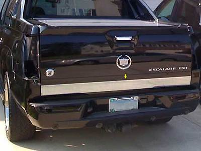 FITS CADILLAC ESCALADE EXT 2002-2006 STAINLESS CHROME REAR DECK TRIM