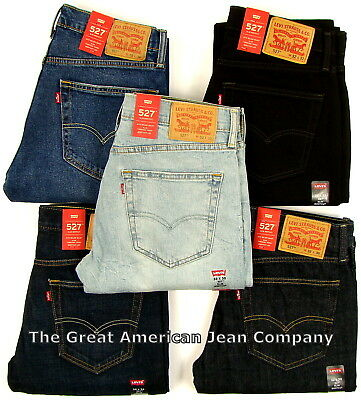 4e1b7a60 LEVIS 527 NEW Mens Slim Fit Boot Cut Levi's Bootcut Jeans - $44.99 ...