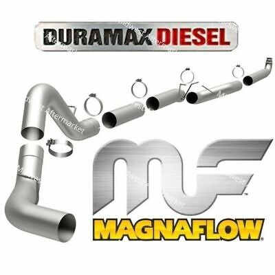 "Magnaflow 5"" DownPipe Back Exhaust w/ Tip Fits 2001-2007 Chevy GMC Duramax 6.6L"