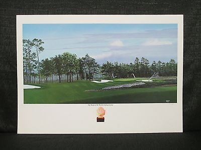 George Griff TPC Sawgrass 1994 US Amateur Championship Golf Signed Lithograph