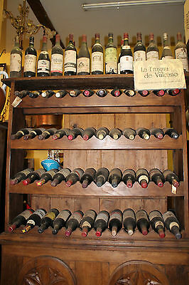 VINOTECA MUEBLE BOTELLERO+63 BOTELLAS 1950's-1990's - CABINET BOTTLE WINE