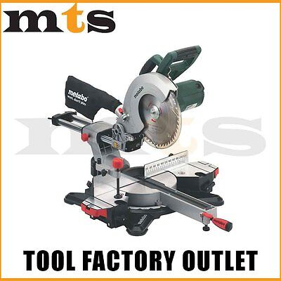 "Metabo Kgs 254 M 1800W 10"" Crosscut & Mitre Saw With Sliding Function"